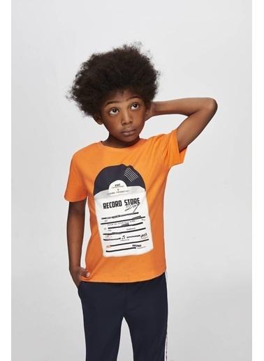 Nebbati Erkek Çocuk Oranj T-Shirt Oranj